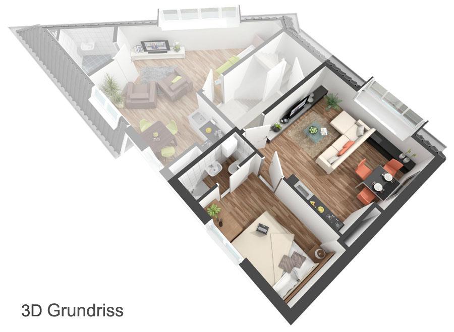Grundriss zeichnen Ihr Haus in 3D!  Beste Qualität zum besten Preis