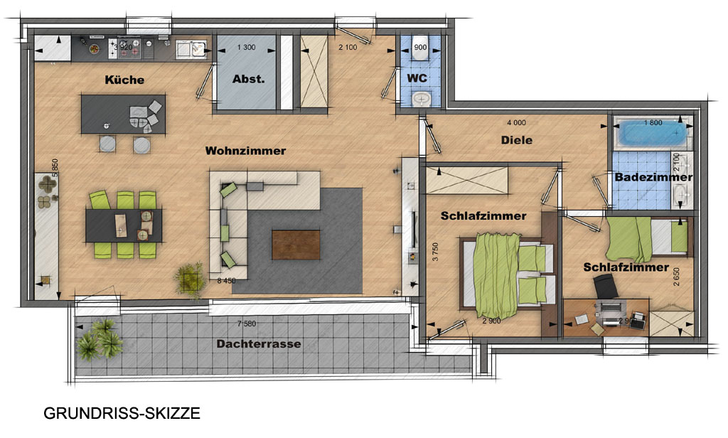 grundriss zeichnen preis verschiedene ideen f r die raumgestaltung inspiration. Black Bedroom Furniture Sets. Home Design Ideas